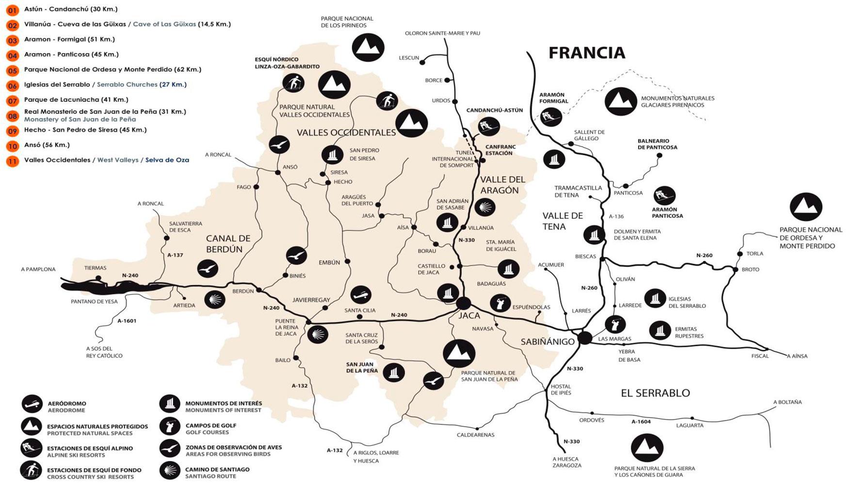 Mapa De Jaca Huesca.Que Hacer En Jaca Huesca Aparthotel Spa Jacetania