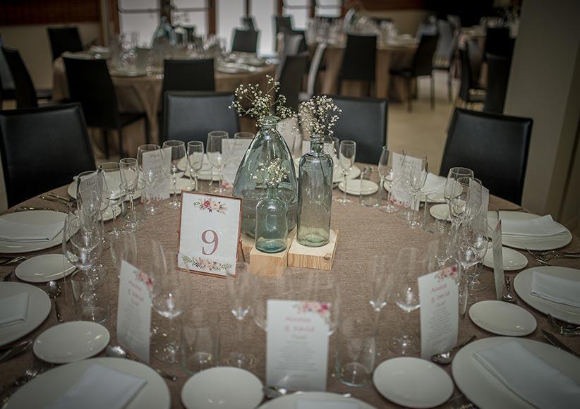 Salón de bodas en Aparthotel Jacetania