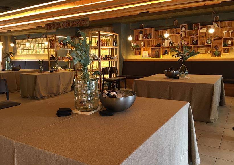 Salón gourmet para bodas en Jaca